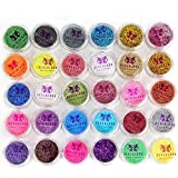Neverland Beauty Glitter Eyeshadow 30 Farben Mix Glitter Puder Lidschatten Pigmente Powder Kosmetik...