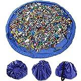 Spielzeug Beutel Tasche Multifunktional Aufräumsack, Extragroße Spieldecke Matte Baby Spielzeug...