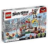 Lego–75824–The Angry Birds Movie Set, Zerstörung der Stadt der Schweine