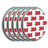 ECENCE Rauchmelder Magnethalter 5 Stück Selbstklebende Magnethalterung für Rauchmelder Ø 70mm...