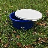 GEWA Mash Müsli Schale Schüssel 2 Liter mit Deckel Farbauswahl, Farbe:dunkelblau