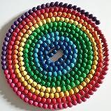 Montessori Material Jahreskette Jahreskreis 365 Tage Perlenmaterial 10mm NEU
