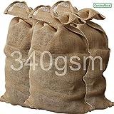 GardenMate® 3x Jutesack PREMIUM 135 cm x 65 cm aus 340gsm Jute …