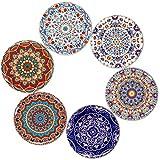 BOHORIA Premium Design Untersetzer (6er Set) – Dekorative Untersetzer für Glas, Tassen, Vasen,...