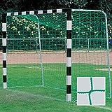 Handballtornetz / Kleinfeld 3,1 x 2,1 m Tiefe oben 0,80 / unten 1,00 m, PP 3 mm ø, grün
