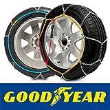 GODKN090 - Schneeketten E9, 9mm. Goodyear, Größe 90 für Reifen: 180_R15, 185_R15, 195/65_R16,...