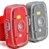 LED Sicherheitslicht / Taschenlampe (2er) Rote und Weiße Lichter für das Rennen, Gassigehen,...
