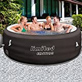 Bestway Lay-Z-Spa Limited Ø 196cm mit Filterpumpe - Whirlpool beheizter Pool Outdoor