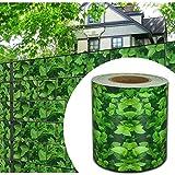 HG® 65mx19cm Sichtschutz Streifen Stabmattenzaun Folie PVC UV-bestädig für Doppelstab Mattenzaun...