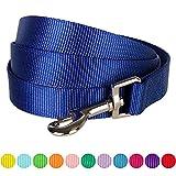 Blueberry Pet Hundeleinen 1 cm by 150 cm Klassisch Einfarbige Basic Nylon-Hundeleinen für Welpen...