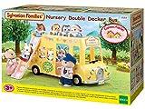 Sylvanian Families 5275 Kindergarten-Doppeldeckerbus, Puppenauto