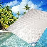 Seiden Sommerdecke Bettdecke Wildseide-Baumwolle 135 x 200 cm Füllung 60% Seide und 40% Baumwolle...