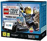 Nintendo Wii U - Konsole, Premium Pack, 32GB, schwarz - Lego City Undercover