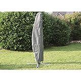 Siena Garden Abdeckhauben und Ampelschirmhülle mit Stab Polyestergewebe Oxford, 300 cm, anthrazit /...