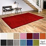 Shaggy-Teppich | Flauschige Hochflor Teppiche fürs Wohnzimmer, Esszimmer, Schlafzimmer oder...