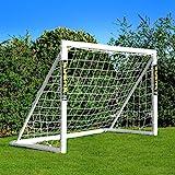 FORZA - 1,8 x 1,2 m wetterfestes Fußballtor, 1 Jahr Garantie! (1.8 x 1.2m Fußballtor Mit Tasche)...