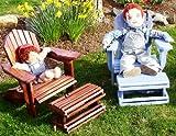 Größe ADIRONDACK-Stuhl mit Fußhocker, Pläne SO EASY Anfänger wie Experten Build Your Own mit...