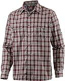 OCK Herren Hemd Bluse langarm, Rot, S, 114743