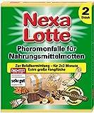 SCOTTS Nexa Lotte Pheromonfalle für Nahrungsmittelmotten, 2 Stück