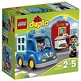 Lego 10809 Duplo Polizeistreife, Kleinkinder-Spielzeug, große Bausteine