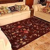 Europäische Stil Pastoral Stil Teppich Couchtisch Schlafsofa Bett Nachttisch Matratze braun (...