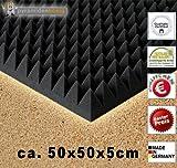 B-Ware in geprüfter Qualität nochmals bis zu 50% reduziert!! 8 x Akustikschaumstoff ca. 50x50x5cm,...