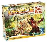 Queen Games 10353 - Escape Big Box 2nd Edition - Basisspiel mit allen Erweiterungen und Queenies