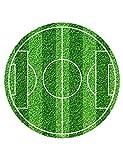 Essbarer Tortenaufleger Fußballfeld