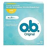 o.b. Original Normal Tampons mit geschwungenen Rillen, Für zuverlässigen Schutz ideal für normale...
