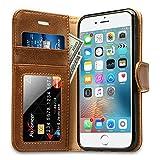 Labato Handytasche iPhone 6 6s Schutzhülle aus Echt Leder Bookstyle Hülle für i Phone 6 6s...