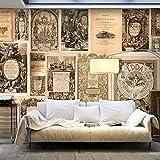 murando - Fototapete Vintage 500x280 cm - Vlies Tapete -Moderne Wanddeko - Design Tapete -...