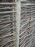 243,8cm Zaunpfosten für Sichtschutzelemente