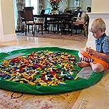 panniuzhe Kinder Play Matte Faltbare Baby Spielzeug Aufbewahrung erhalten Tasche für Home, Outdoor...