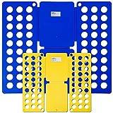 TecTake 2er Set Wäsche Faltbrett Wäschefalter für Wäsche - Diverse Mengen - (1 Set | Nr. 401684)