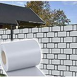 HG® 65mx19cm Sichtschutz Streifen Doppelstabmattenzaun PVC Sonnenschutz für den Gartenzaun oder...