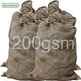 GardenMate® 5x Jutesack Universal 105cm x 60cm aus 200gsm Jute
