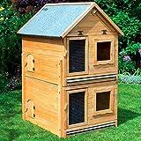 Erweiterung für Kleintiervilla MAXI 91x70x56 cm Stall Kaninchenstall