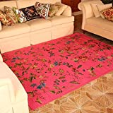 Europäische Stil Pastoral Stil Teppich Couchtisch Schlafsofa Bettdecke Decke rosa rosa ( größe :...