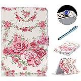 Etsue Schutzhülle iPad Mini 1/2/3 Hülle, iPad Mini 1/2/3 Hülle Tasche Case, PU Leder Case für...