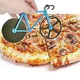 EGOGO Pizzaschneider,Fahrrad Stil Design,Pizza Klingen aus Rostfreiem Stahl mit...