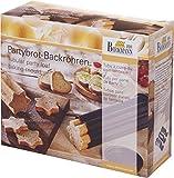 Birkmann 210158 Partybrot-Backröhren, 3-teilig