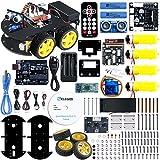 Elegoo Smart Robot Car Kit V3.0 UNO Elektro Baukasten mit UNO R3, Line Tracking Modul,...