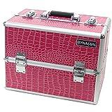 DynaSun BS38 36x24x30.5cm XXL Blau Designer Profi Beautycase Schminkkoffer Kosmetikkoffer...