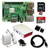 Raspberry Pi 3 Model B+ Bundle XXL 32GB (Weiß)