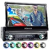 XOMAX XM-VRSUN740BT Autoradio mit GPS Navigation + Bluetooth Freisprechfunktion + 7 Zoll / 18cm...