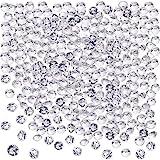 Blulu 2000 Stück 6 mm Plexiglas Diamant Streuung Diamantkristalle Dekosteine Hochzeit Crystal Tisch...