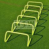 Fußball Hürden, 23 cm, 6 Stück [Net World Sports]