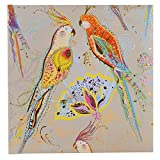 Poesiealbum Silver Moon parrot Poesiebuch Turnowsky 41289