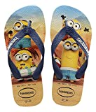 Havaianas Kinder Flip Flops Kids Minions Grösse 27/28 EU (25/26 Brazilian) Beige/Navy Blau...