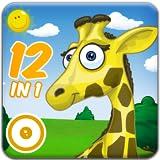 Tier Spielplatz 1 - 'Best of' Edition. 12 Spiele-Klassiker mit lustigen Tieren für Kinder in einer...